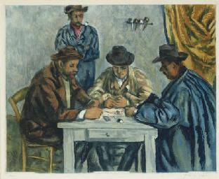 Les Joueurs de cartes (Gineste