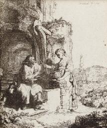 Christ and the Woman of Samari