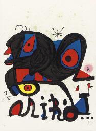 Poster for Miró, Louisiana, Hu