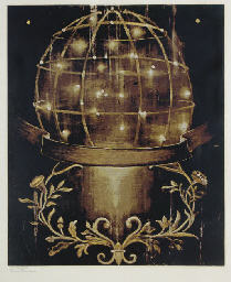 Untitled [Sphere and Moulding]