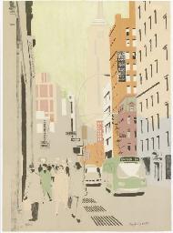 Sixth Avenue II (Ludman 23)