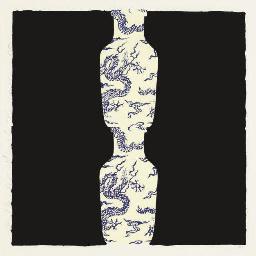 Double Blue Vase, March 28, 20