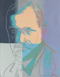 Sigmund Freud, from Ten Portra
