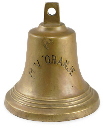 A 20th century bronze bell fro