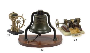 A late 19th Century bronze bel