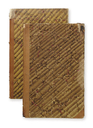 A pair of log books from the N