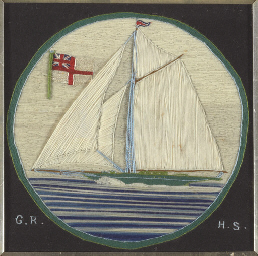 A 19th century British woolwor