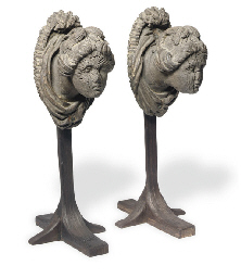 A pair of late 18th century Br