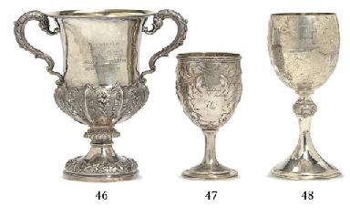 A sterling silver presentation