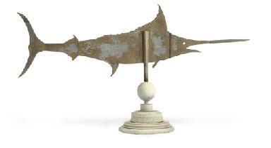 A Folk art weathervane in the