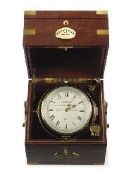A modern marine chronometer in