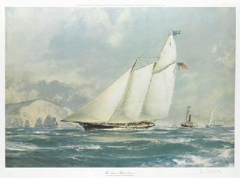 The schooner yacht America