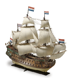 a rigged model of the Dutch 80