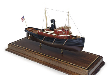 A Model Of The Tugboat Edmond