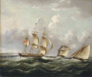 Ships of the Royal Navy runnin