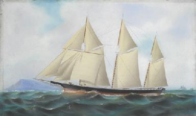 The schooner Delaware