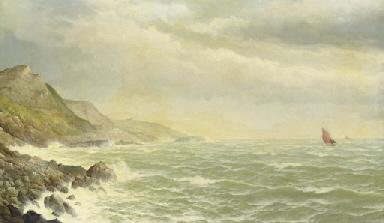 Summer Sea, Cornwall 1882