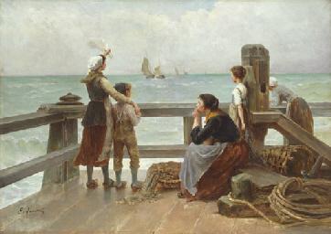 A sailor's goodbye