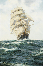 The American clipper Blue Jack