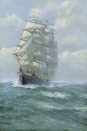 The clipper ship Antiope