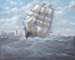 The Californian clipper ship S