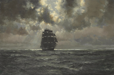 Heading for home; The clipper