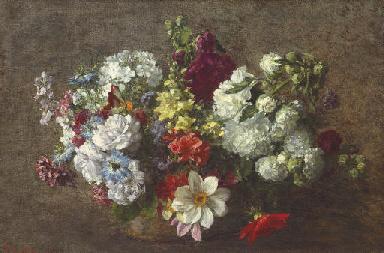 Bouquet mêlé (Les fleurs du ja