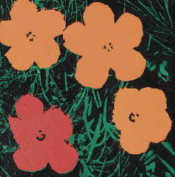 Study for Warhol Flowers