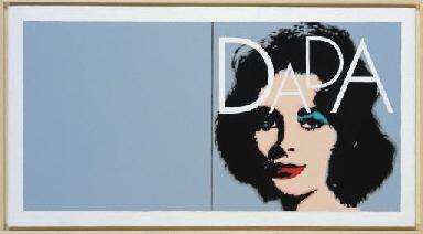 Andy Warhol (Liz Diptych, 1963