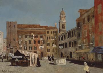 Campo San Margareta, Venise