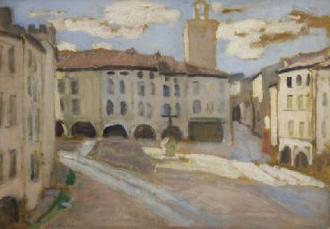 Place de Bagnols-sur-Cèze