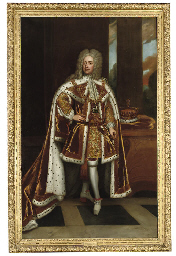 Portrait of King George II whe
