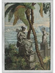 Paysage de Télémaque dans l'Îl