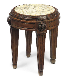 A FRENCH BEECHWOOD JARDINIÈRE