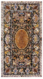 AN ITALIAN PIETRA DURA TABLE T