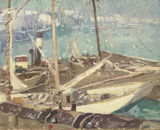 Impression--Boulogne Harbor, W