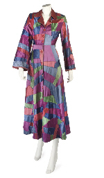 AN UNUSUAL PATCHWORK ROBE, ATT