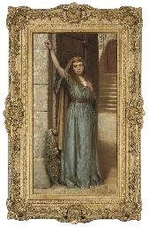 Mrs Shaw as Cordelia