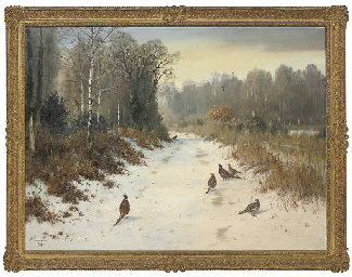 Winter in the ride, Strumpshaw