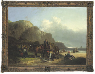 Scene in the Isle of Wight