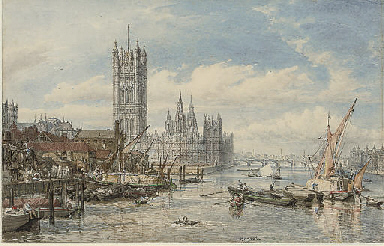 Houses of Parliament and Westm