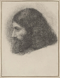Head study of an Armenian monk