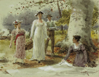 The picnickers