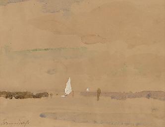 A Norfolk waterway
