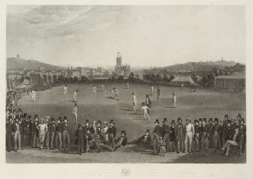 The Cricket Match, between Sus