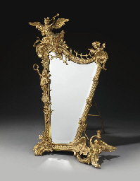 A FRENCH ORMOLU DRESSING-TABLE