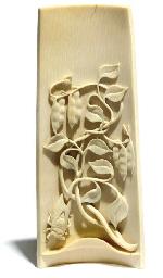 A Chinese ivory wristrest