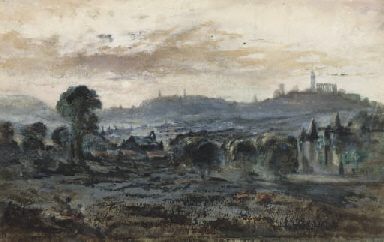View towards Calton Hill, Edin