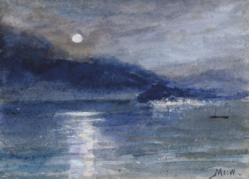 Moonlight over Lake Como, Bell