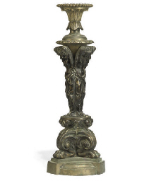 A WILLIAM IV BRONZE TABLE OIL
